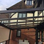 Glass Patio Roof Brentwood